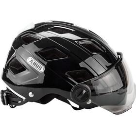 ABUS Hyban+ Fietshelm, smoke visor black